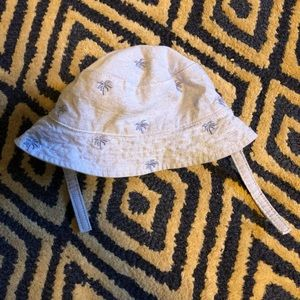 Janie and Jack reversible sun hat 6-12 mo